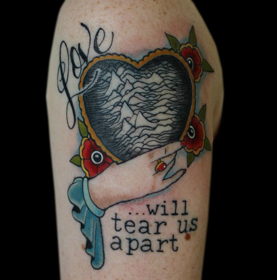 40 heartbreakingly beautiful joy division tattoos tattoodo for Tattoo shops in chattanooga