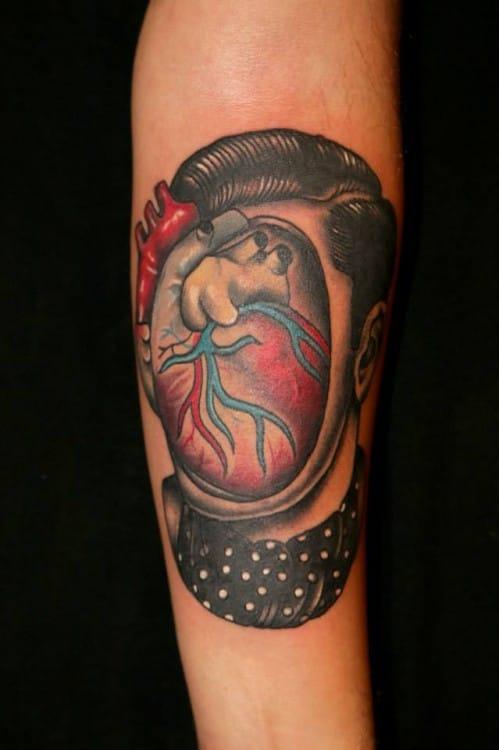 Creative and amazing tattoo