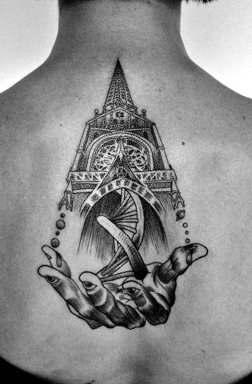 Another gorgeous tat by Nick Broslavskiy.