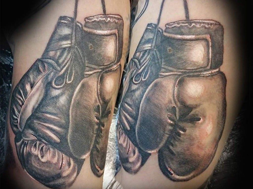 Tattoo done at Drop Shadow Tattoo