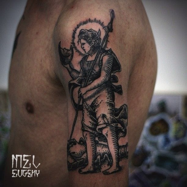 Religious themed by Mel Evgeny.