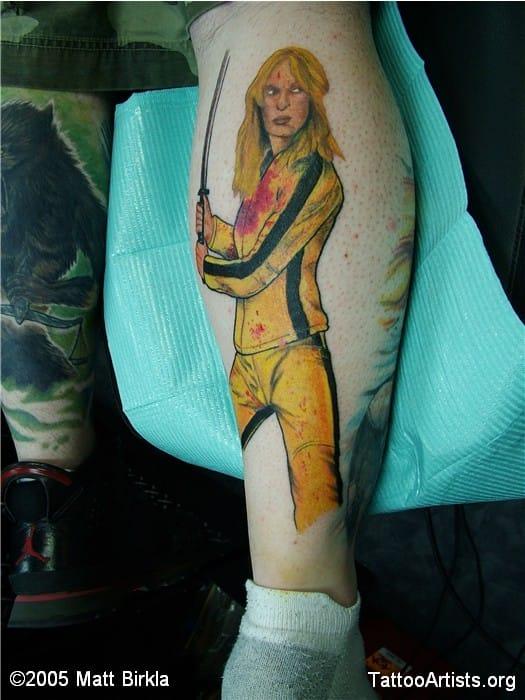 Tattoo by matt Birkla