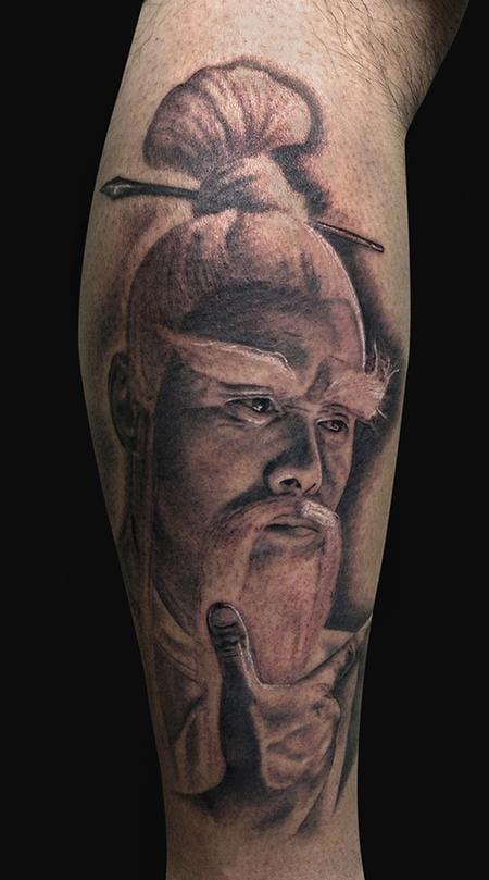 Pai Mei - Tattoo by Jamie Lee Parker