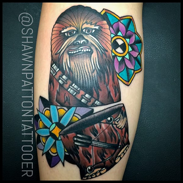 Tattoo by Shawn Patton
