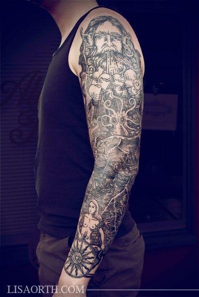 Badass sleeve by Lisa Orth.