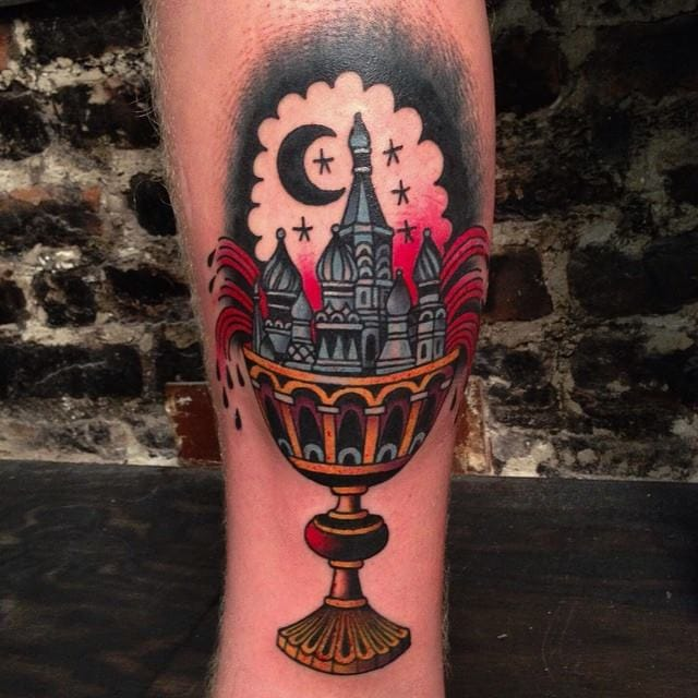 Goblet Tattoo by Max May