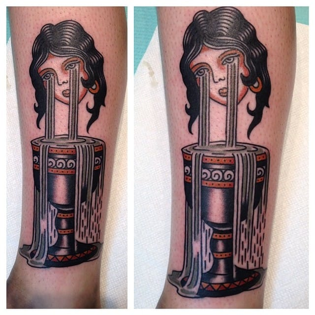 Goblet Tattoo by Ryan Cooper Thompson