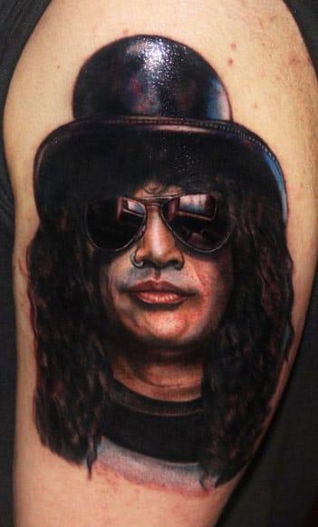 Grandes Astros Da Música Em 15 Tatuagens Fenomenais