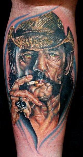 Vocalista do Motorhead e historiador de guerra, Lemmy! Cecil Porter