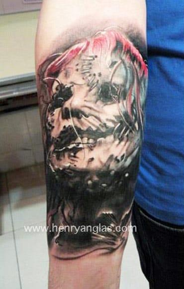 Corey Taylor vocalista do Slipknot! Henry Anglas