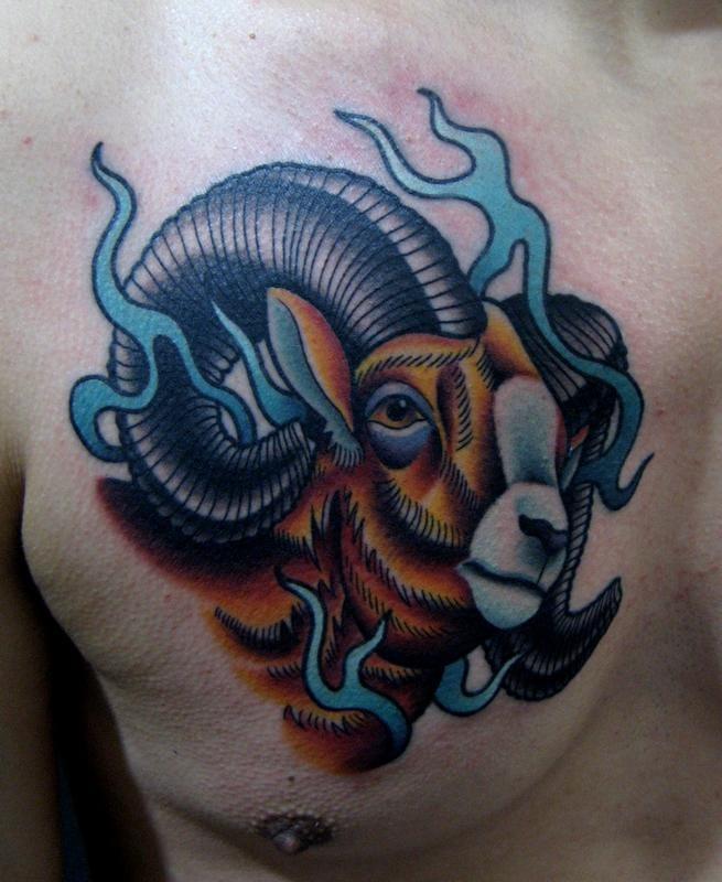 15 Bold And Symbolic Ram Tattoos