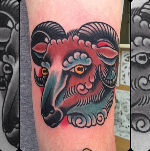 Tattoo by Nick Mayes