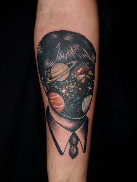 Tattoo by Pietro Sedda.