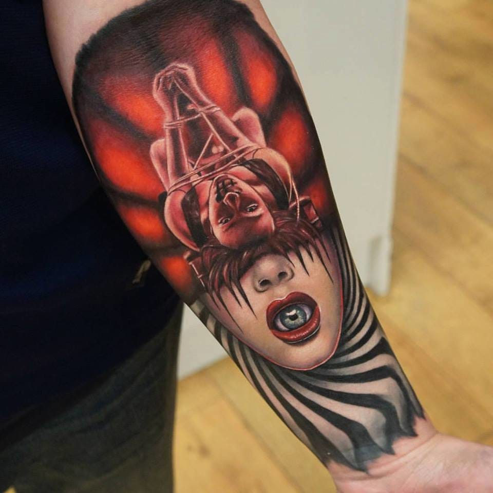 Spotlight: Disturbing Tattoos By Paul Vander-Johnson