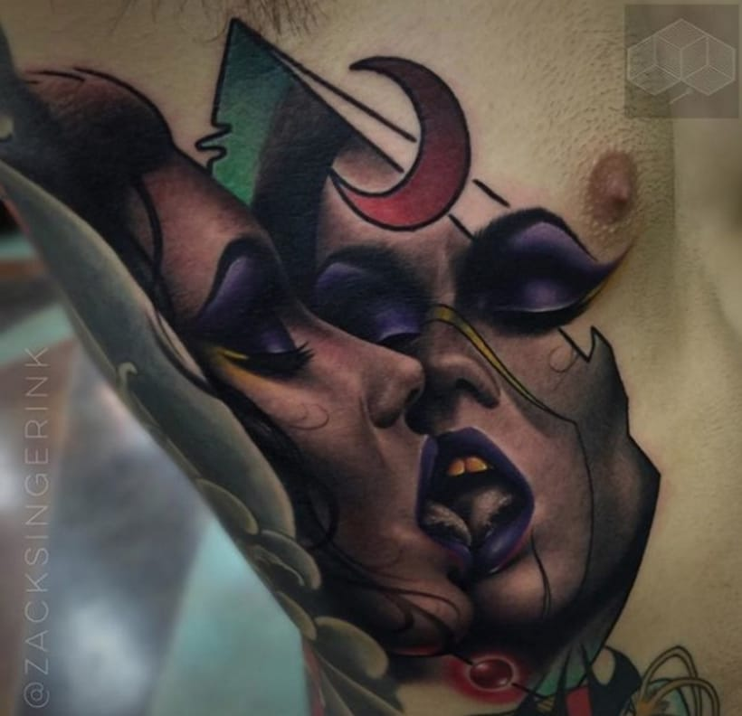 Spotlight: Magic Neo Traditional Tattoos By Zack Singer