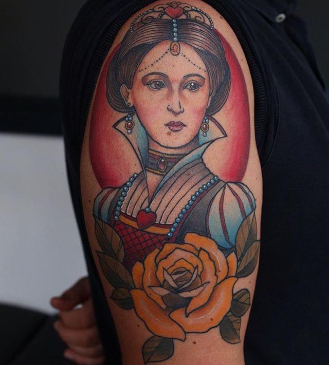Great tattoo by Fraser Peek.