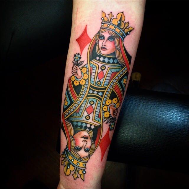 Diamond queen by John Rippey.