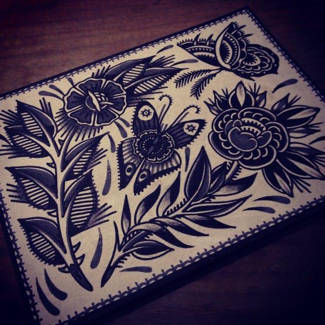 Blackwork Print