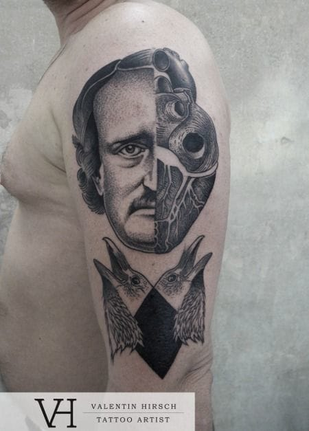 Original tattoo by Valentin Hirsch.