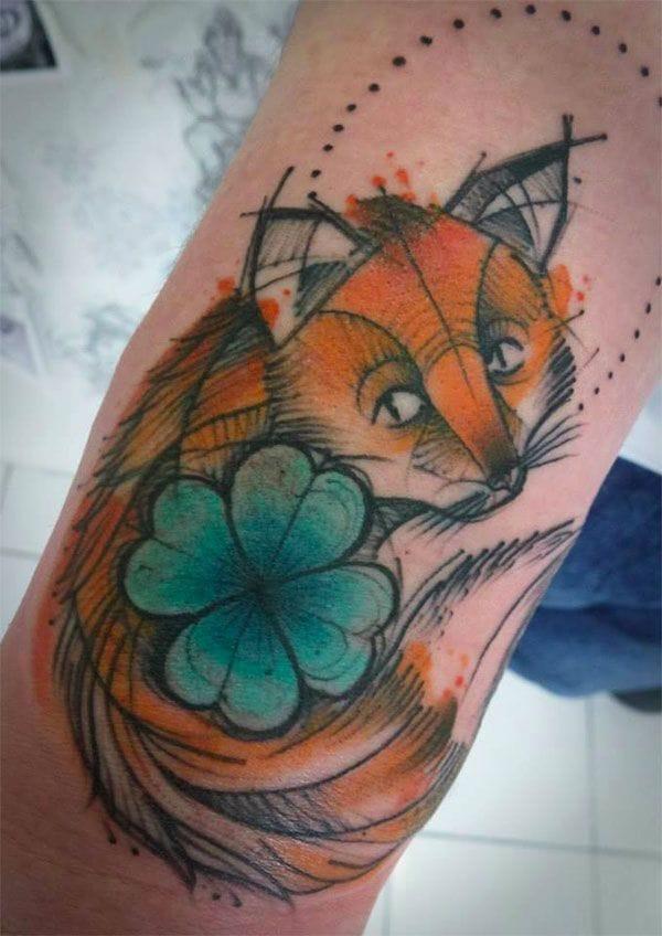 Lovely fox by El Cuervo.