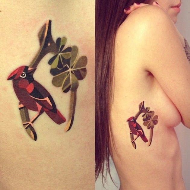 Charming tattoo by Sasha Unisex.