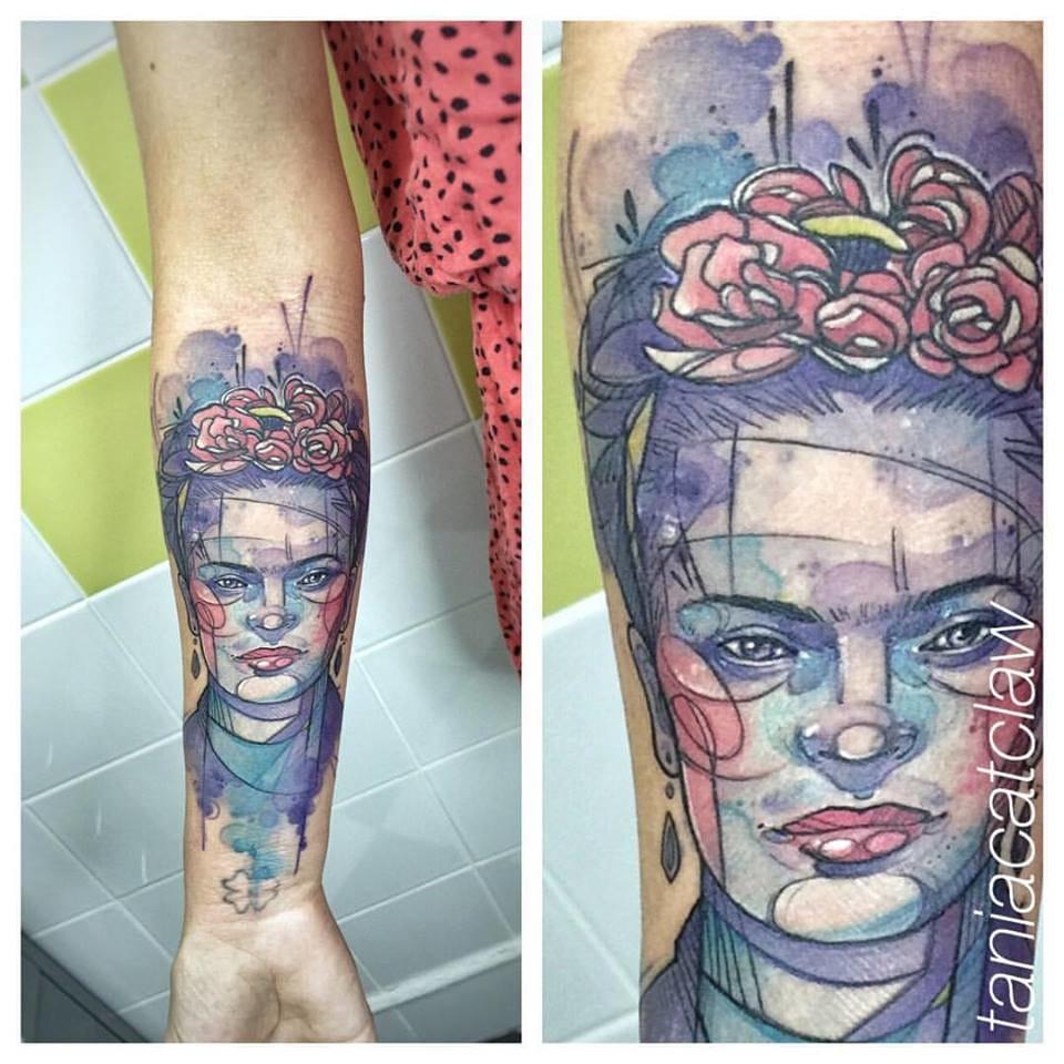 Tribute to Frida Kahlo.