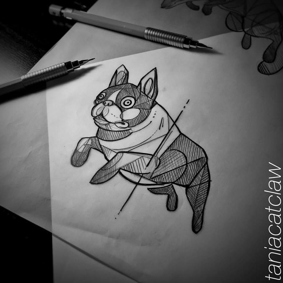 An adorable sketch.