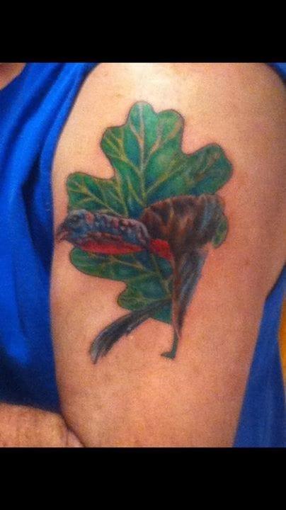 Turkey on a leaf anyone?