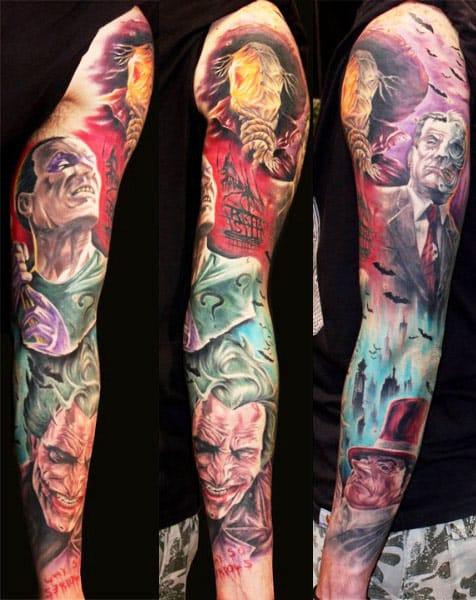 Alex Gotza e um fechamento de braço de dar inveja a muitos loucos por quadrinhos