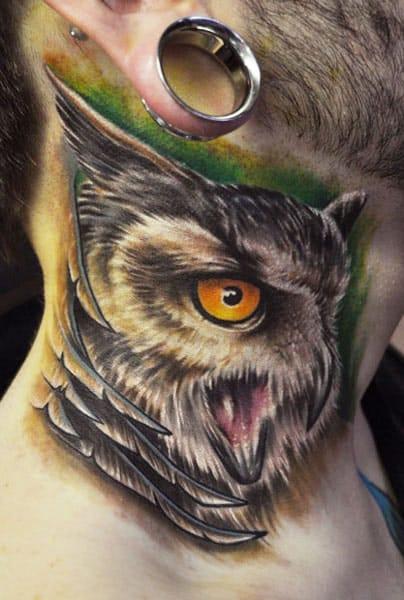 Chad Chase! Tatuagem no pescoço não doi NADA!