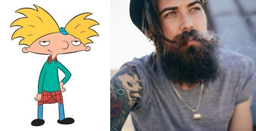 Guess What? Hey Arnold's Voice Actor Is A Tattooed Hunk