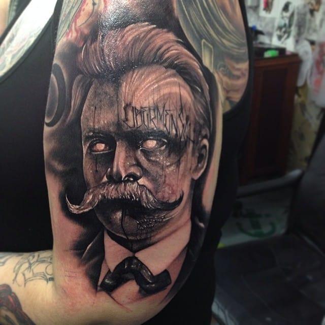 12 Nihilist Friedrich Nietzsche Tattoos