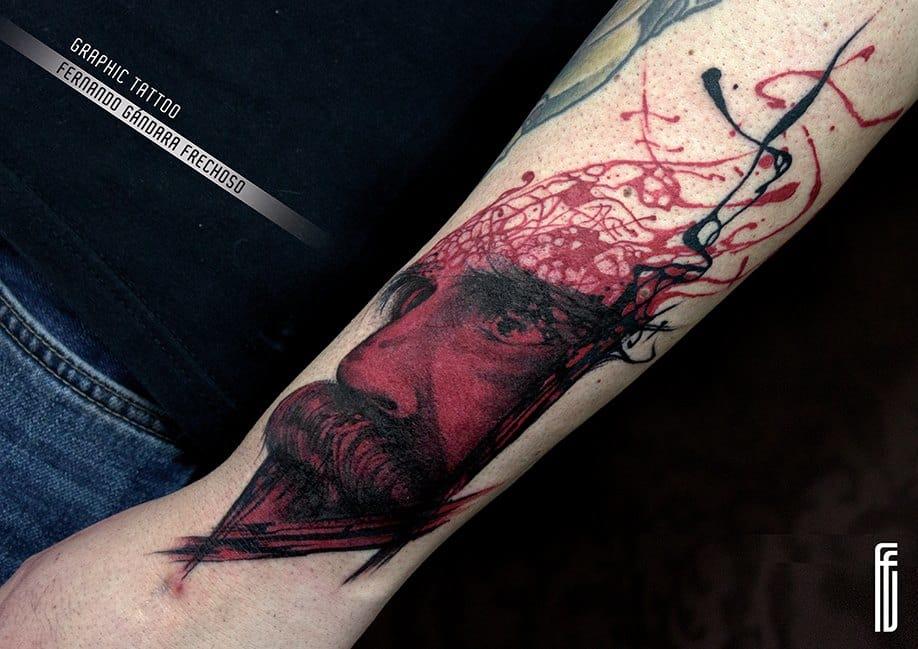 Bloody piece by Fernando Gándara Frechoso.