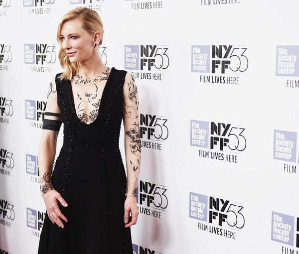 Cate Blanchett Brings Tattooed Fashion Trend To The Red Carpet
