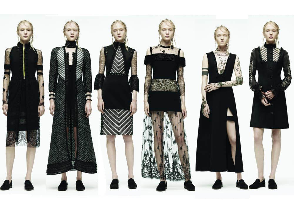 YACINE AOUADI F/W 2015 collection; Photo from: The Buzz About Blogging