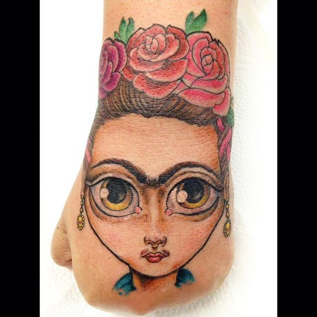 Fun hand by Gonta Felix.