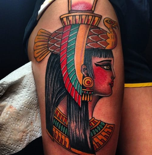 Nekhbet Tattoo by Daryl Rodriguez