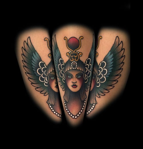 Isis Tattoo by Myra Brodsky