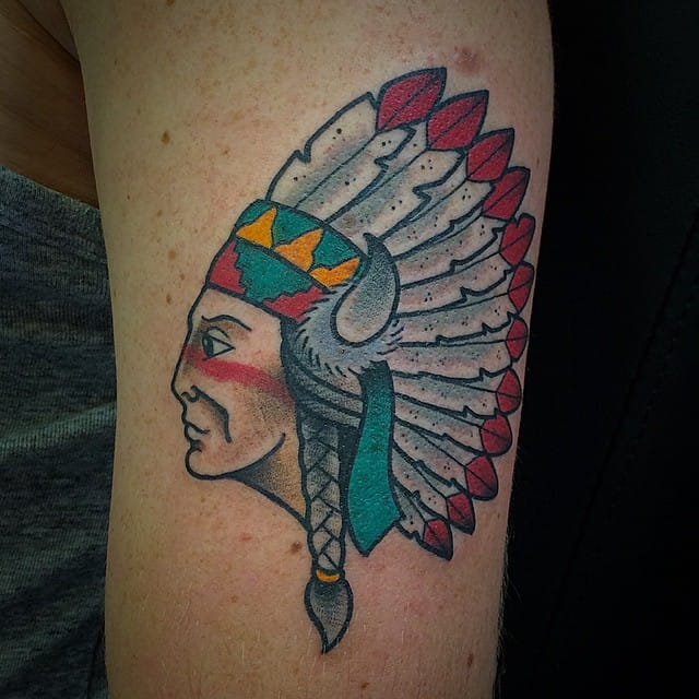 Chief Tattoo by Dickie de Wit