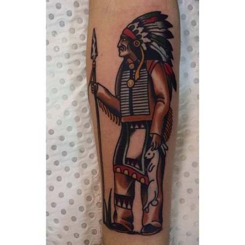 Chief Tattoo by Jessica Swaffer