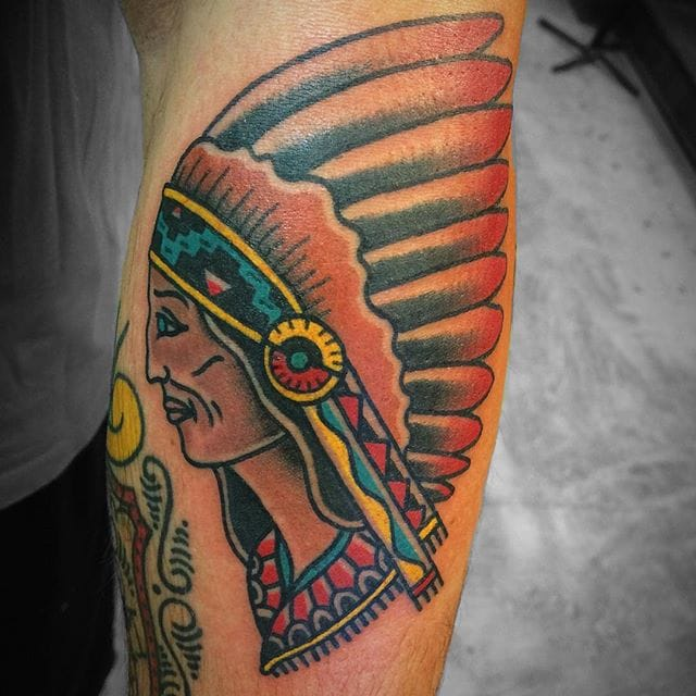 Colorful Chief by Luke Holland
