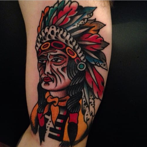 Chief Tattoo by Ryan Shaffer