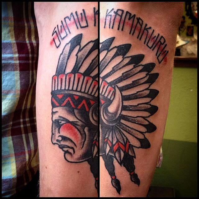 Brilliant Chief Tattoo by Taler Nicols