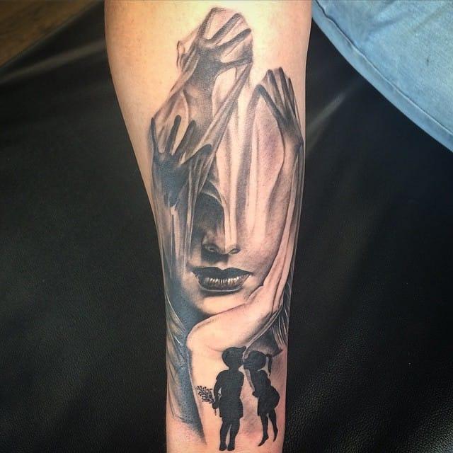 This one tattooed by Maya Mysteria.