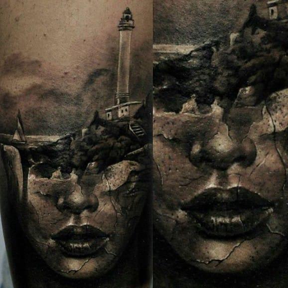 Another Antonio Mora tattooed by Ferraro Fabrizio.
