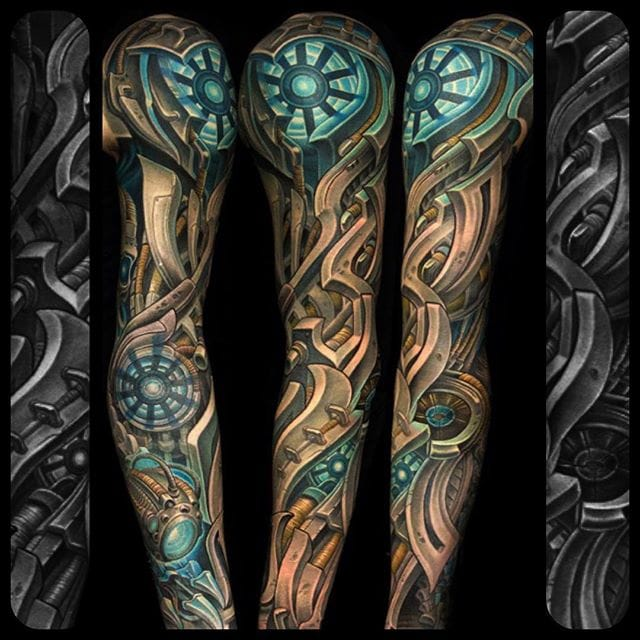 spotlight the dark and badass tattoos of julian siebert tattoodo. Black Bedroom Furniture Sets. Home Design Ideas
