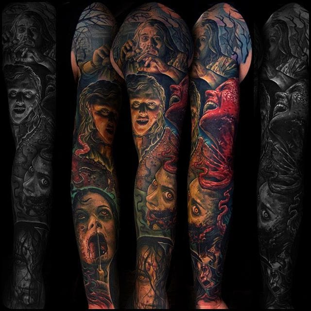 Full Evil Dead sleeve... A masterpiece of horror.