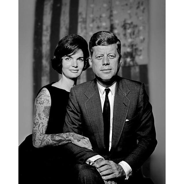 Jacqueline B. Kennedy and John F. Kennedy