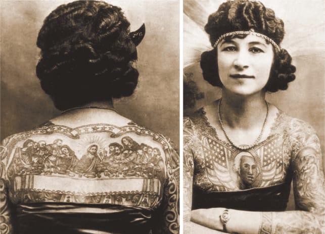 As Corajosas Mulheres Tatuadas Do Século XIX