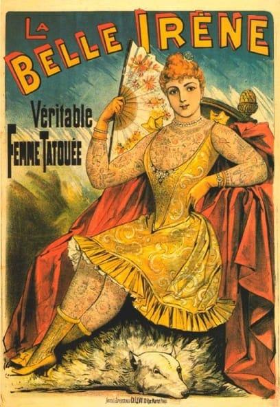La Belle Irene era o seu nome artístico